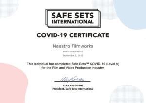 Safe Sets Certification