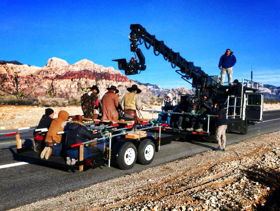 Crane Hillary Movie Outside Las Vegas