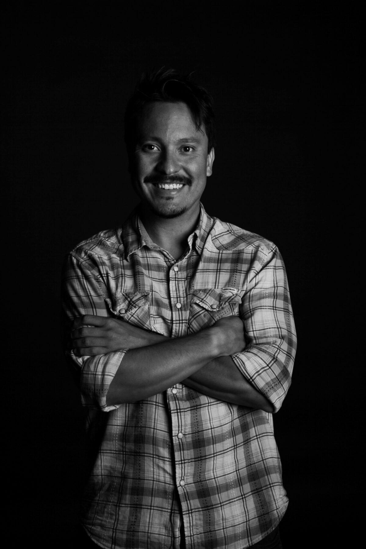 Portrait Hector Retrato Bco Y Negro